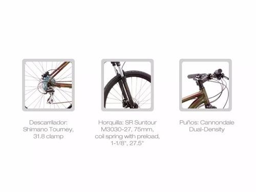 bicicleta cannondale catalyst-2 d16/17 27.5