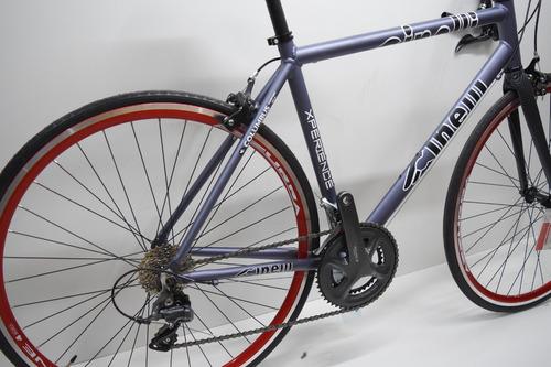 bicicleta carrera ruta cinelli rodado 28 16v shimano claris