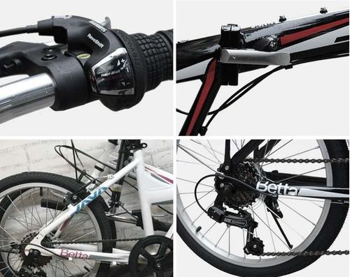 bicicleta de ciudad plegable bettajava - elbunkker envio g