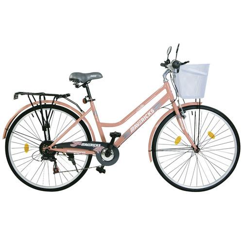 bicicleta de paseo para dama rod. 26 6 velocidades