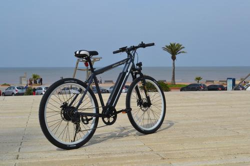 bicicleta electrica e-cross hibrida urban halley