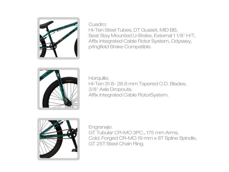 Bicicleta Gt Bmx Slammer Xl 2015 Motociclo - U$S 379,00 en Mercado Libre