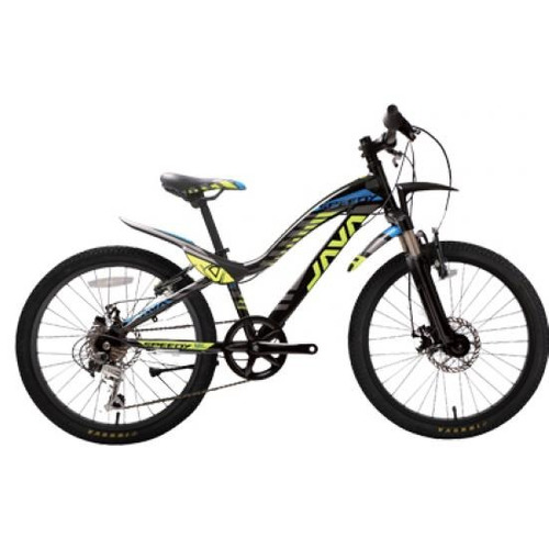bicicleta java para niños speedy 21s v negro 24