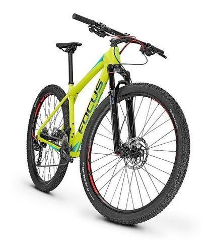 bicicleta montaña focus raven elite 29 carbono verde
