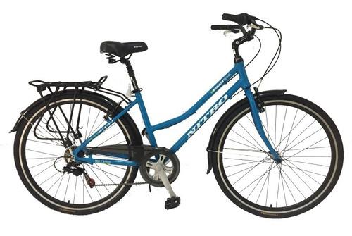 bicicleta  nitro dama rodado.28 ; rosas hermanos mercedes