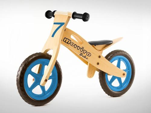 bicicleta para niños morrito bike azul