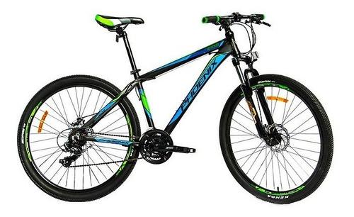 bicicleta phoenix rodado 26 aluminio freno disco y shimano