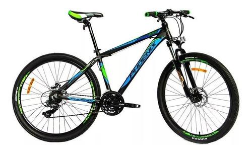 bicicleta phoenix rodado 27.5  aluminio freno disco yshmano