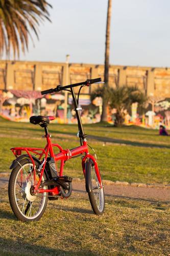 bicicleta plegable electrica longwise rod. 20 batería litio