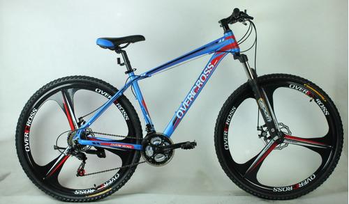 bicicleta r29 compass overcross shimano llantas aleación ebz
