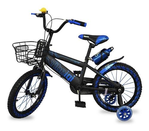 bicicleta rodado 16 rueditas niño niña 100% armadas mvdsport
