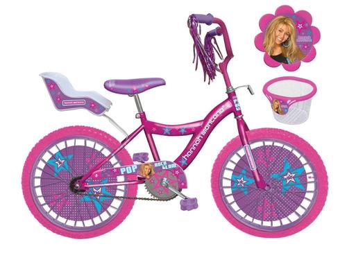 bicicleta rosada rodado 20 con detalle