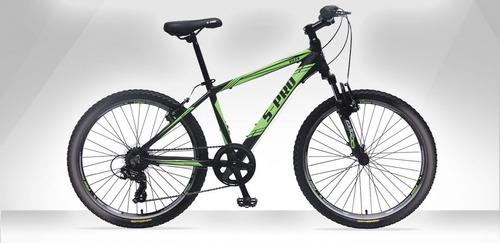 bicicleta s-pro vx r24 7v - laser tv