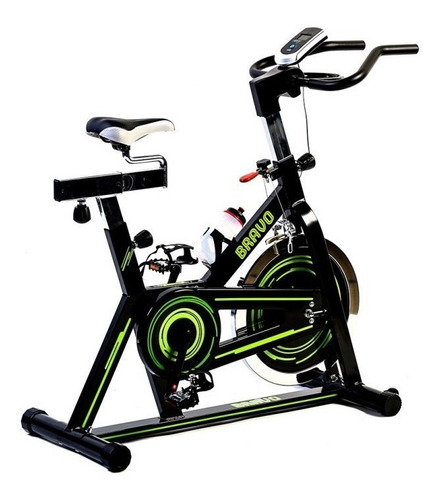 bicicleta spinning fija bravo confort del hogar