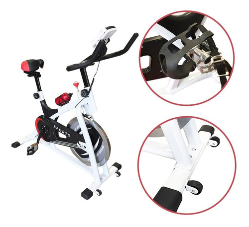 bicicleta spinning profesional regulable premium 8kg +regalo