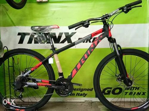 bicicleta trinx m116 rod 27.5 cuadro aluminio freno disco