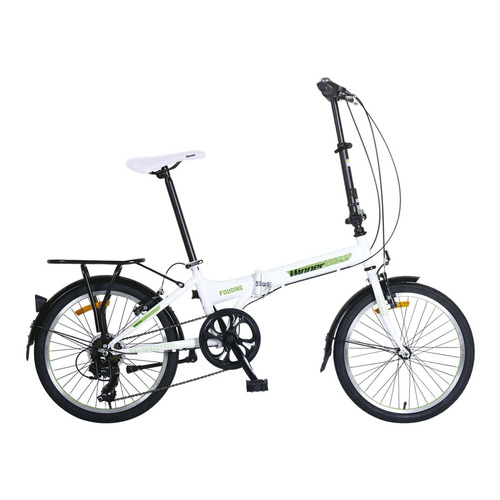 bicicleta winner folding acero 20'' 2018 motociclo