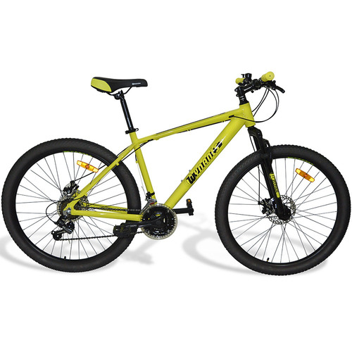 bicicleta wynants  rodado 27,5 21 velocidades amarilla