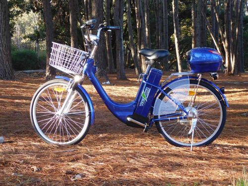 bicicletas electricas voltbike r 24 o 26 batería litio