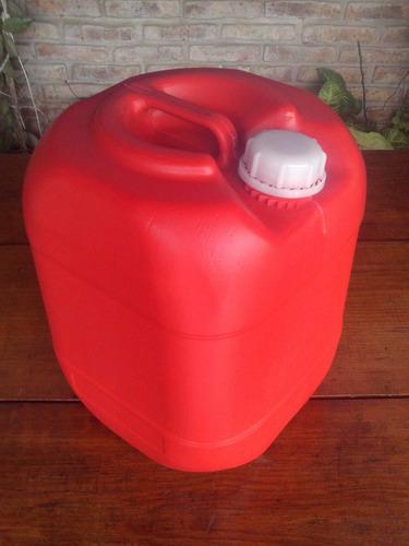 bidones con tapa de 20 litros (nuevos)