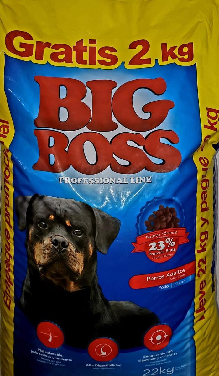 Big Boss Adulto 20 + 2kg Gratis + 2 Pate 280gr + Envio - $ 1.740,00 ...