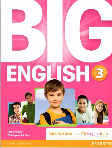 big english 3 / with myenglishlab / pupils book / pearson