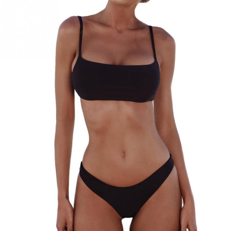6147a25c6dff Bikini Colaless Dos Piezas Push Up Alto  por Encargue