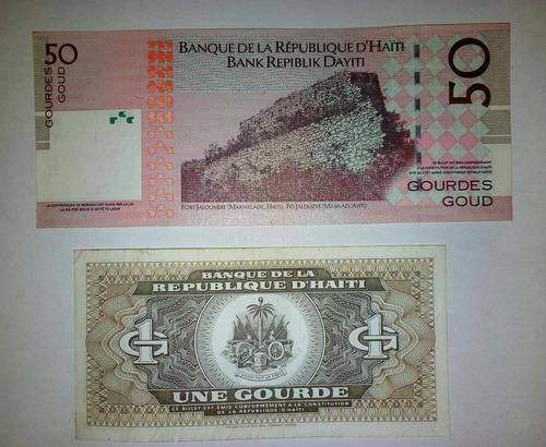 billetes r.d.haiti