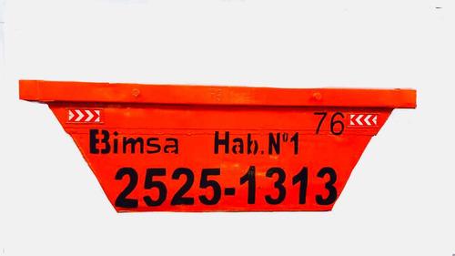 bimsa® - alquiler volquetas 24 y 48 hs.