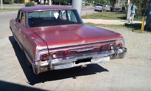 biscayne chevrolet 1964 4 puertas vendo sin motor