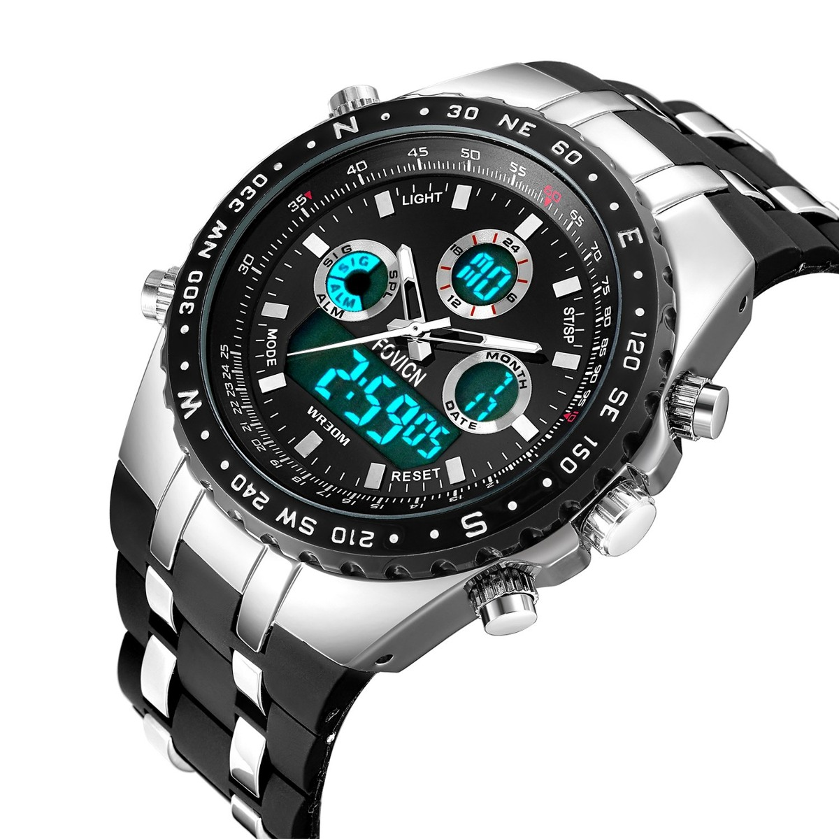P Relojes Reloj Men De Sport Watch Cara Mens Grande Black MpqSUVGz