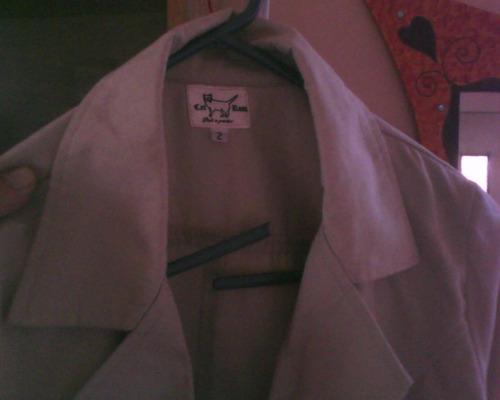 blazer de dama beige,de vestir talle s sin usar