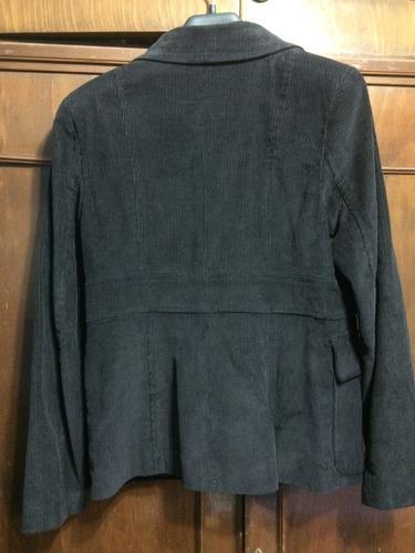 blazer de mujer de pana marrón oscuro en 42 - marrón en 46