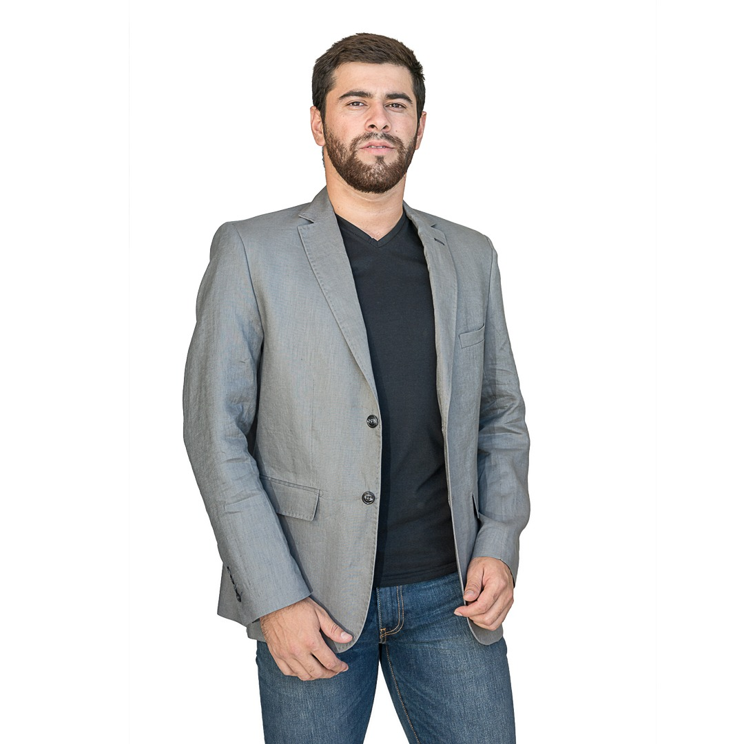 011edfdfb71c3 blazer para hombres gris christian bordeaux - tienda chaia. Cargando zoom.