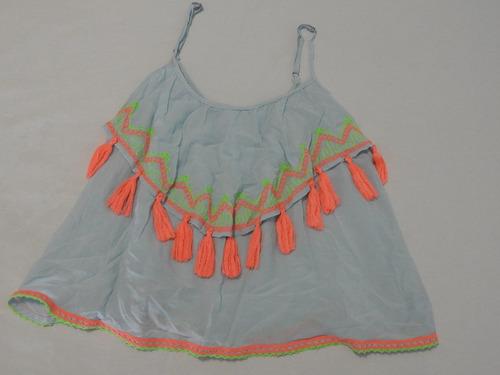 blusa colorida ideal para verano talle s