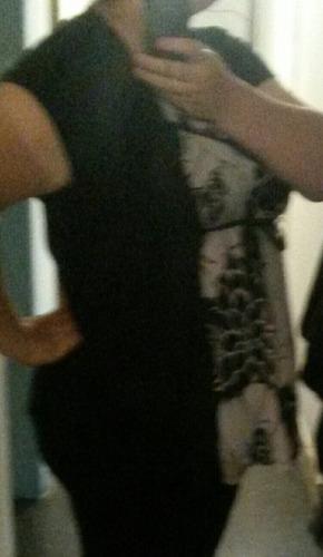 blusa con saquito integrado xl