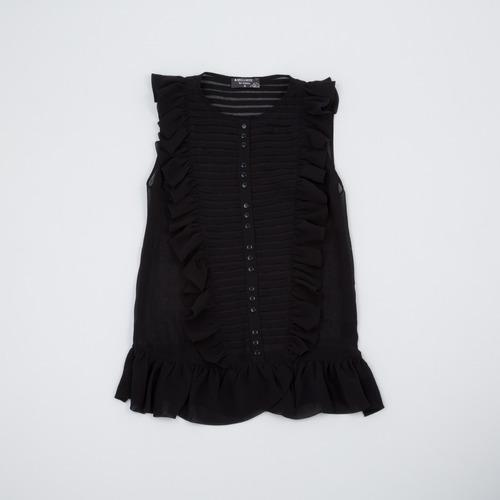 blusa de gasa con volados s12.14/13 tienda oficial