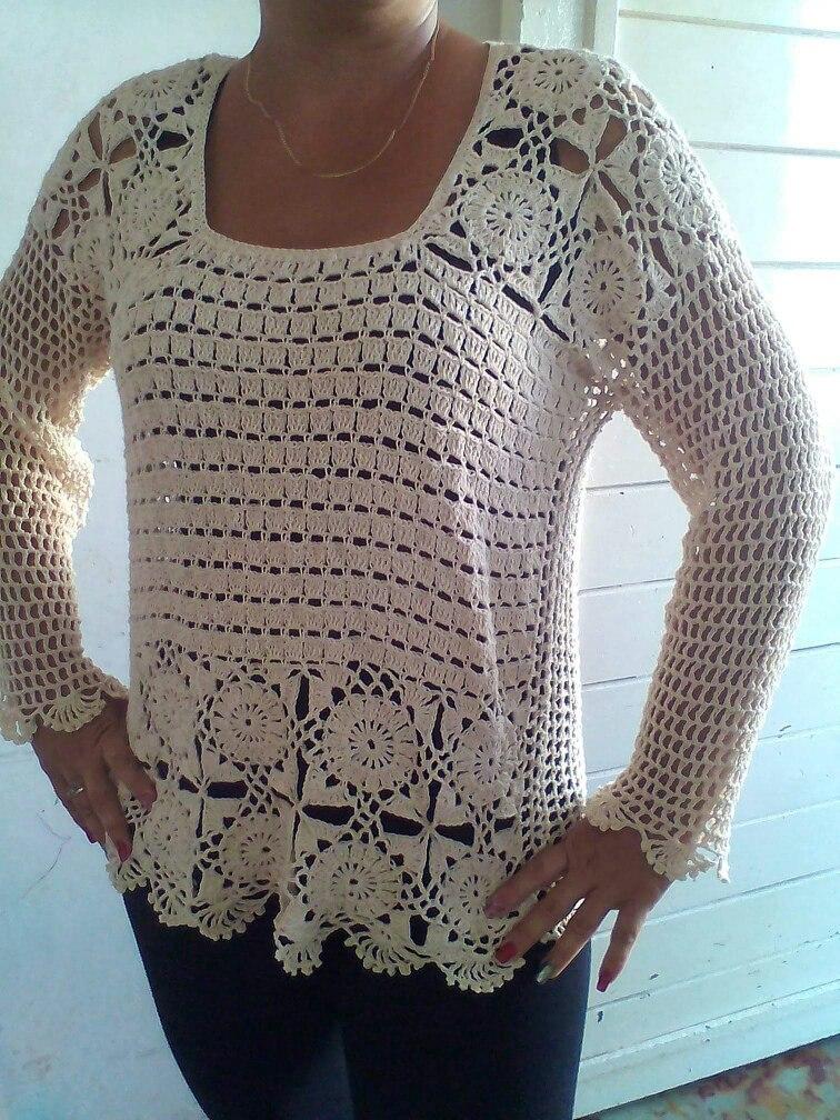 Blusas Crochet 60000 En Mercado Libre