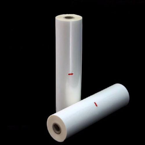 bobina rollo para laminadoras brillante 32mic 330mm x150mts.
