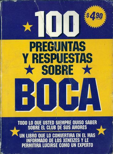 boca jrs librito 1998 100 preguntas y respuestas sobre boca