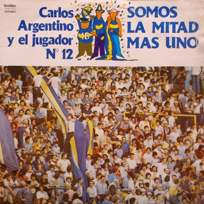 boca juniors - carlos argentino - disco de  vinilo
