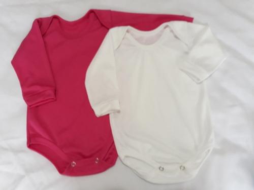 bodie bebe manga corta o larga en algodón interlock. nuevos
