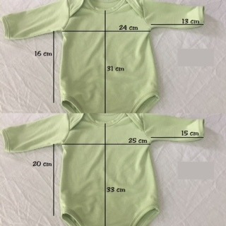 bodie bebe manga larga  o corta. c/u $ 169. algodón. nuevos