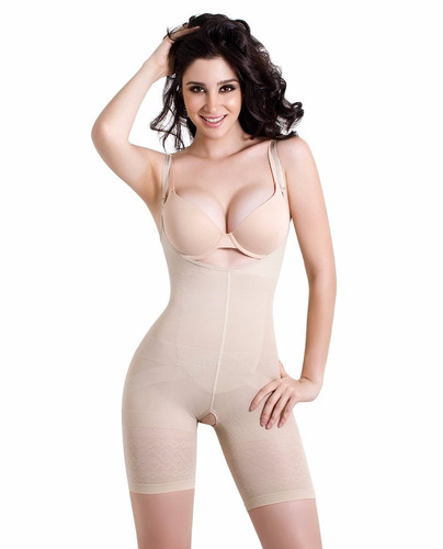 body modelador reductiva senos libres bonevil 1387 beige