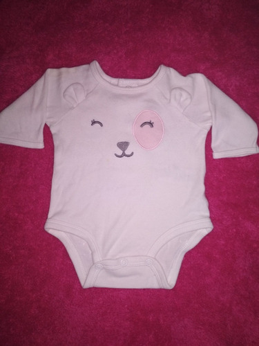 bodys manga larga carters 0 a 3meses