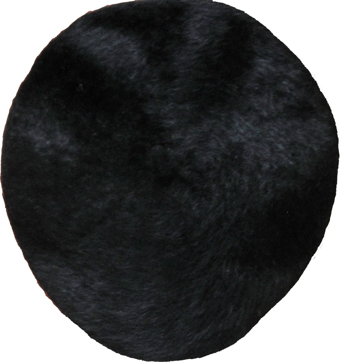 boina tipo francesa de mujer con tela tipo pelo corto negra. Cargando zoom. 632f4c39803
