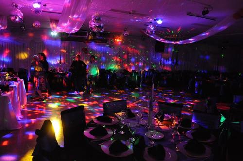 bola de luces led para discoteca, puerto usb, control remoto
