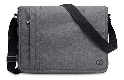 bolsa bandolera casecrown horizontal p/macbook pro/air 13 in