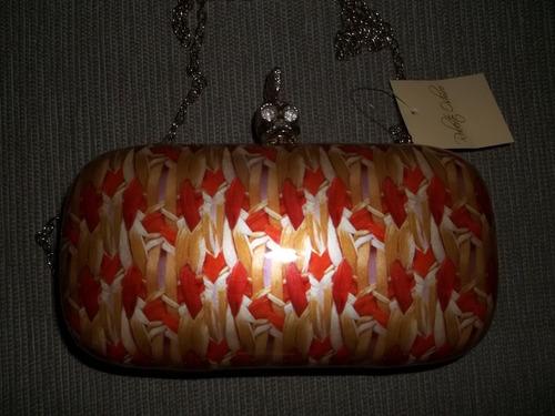 bolsa com fecho de caveira-roberto oshiro (exclusivo)