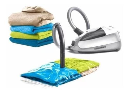 bolsa de vacio organizador ropa  98 x 68 cms prendas frazada